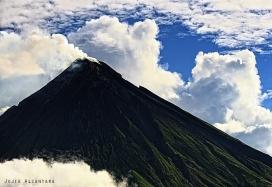 Aerial shot of Mayon Volcano © Jojie Alcantara