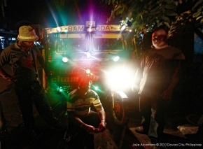 Christmas tricycle by Jojie