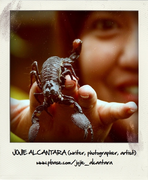 Jojie Alcantara and scorpion