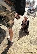 tourist and beggar