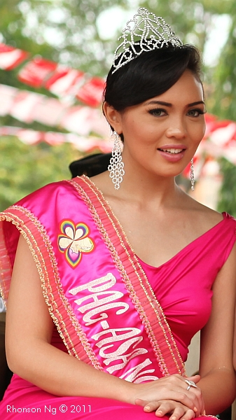 Carmen Smith, runnerup of Mutya ng Davao, by Rhonson Ng