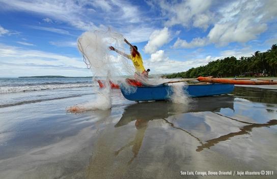 Fisherboy of San Luis, Caraga, Davao Oriental by Jojie Alcantara