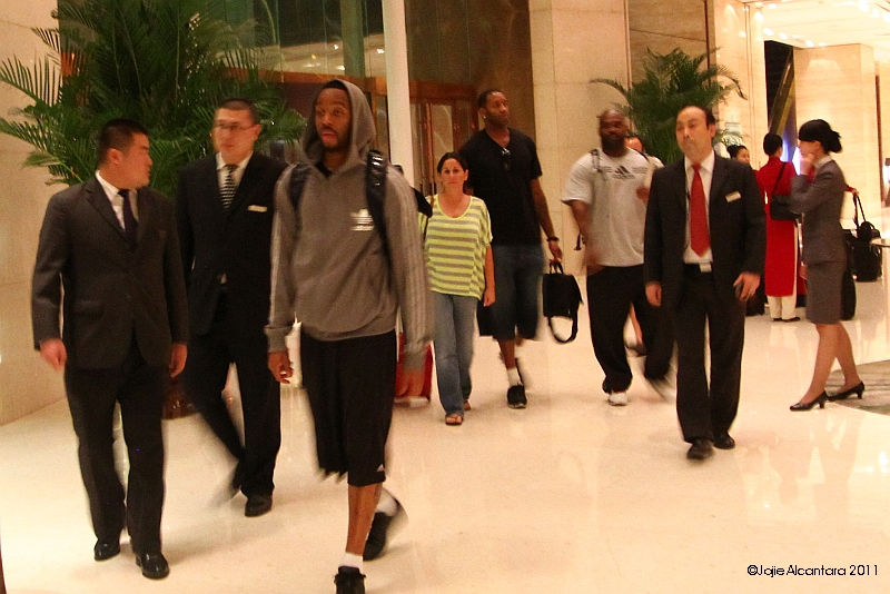 Tracy McGrady and escorts