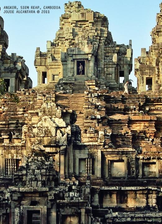 Angkor Complex in Siem Reap, Cambodia by Jojie Alcantara