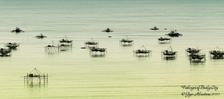 Fishcages of Bislig City by Jojie Alcantara