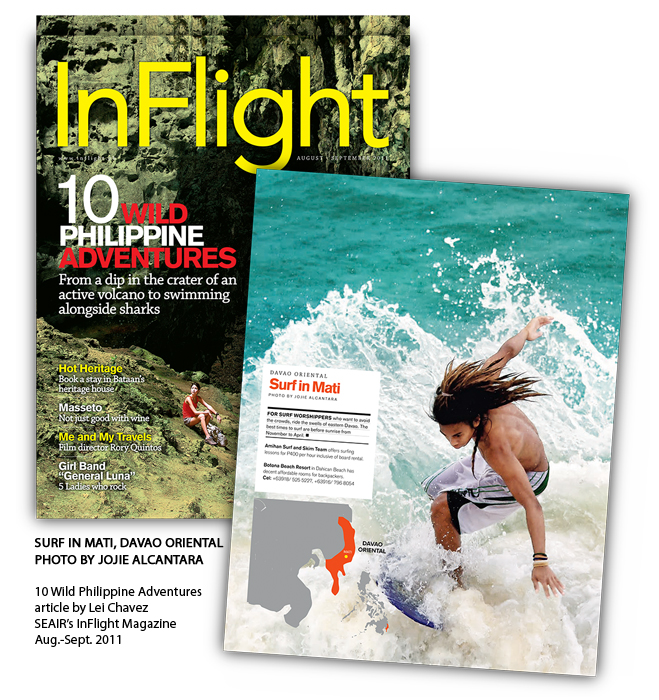 InFlight Magazine of SEAir Aug.-Sept. 2011 Issue