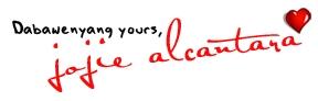 signature jojie alcantara
