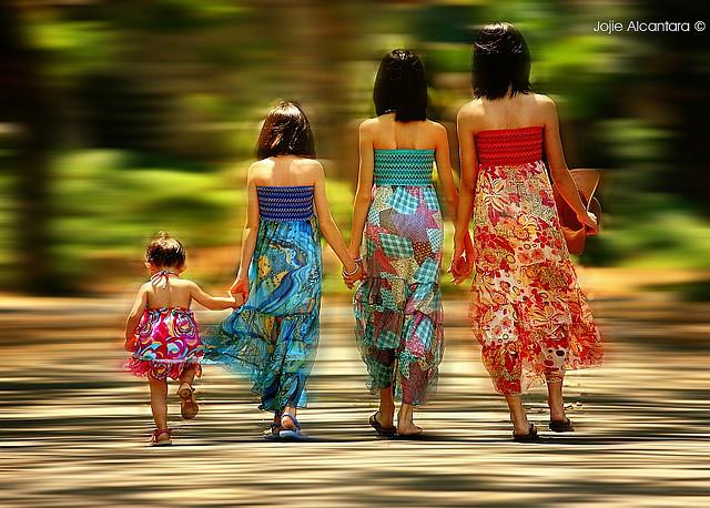 Four Sisters, by Jojie Alcantara