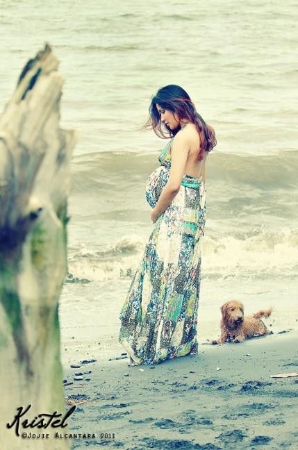 Kristel at 9 months