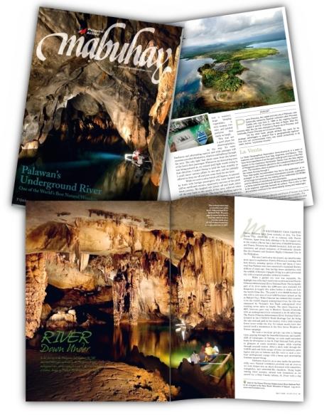 Mabuhay Magazine April 2009 cover story by Jojie Alcantara