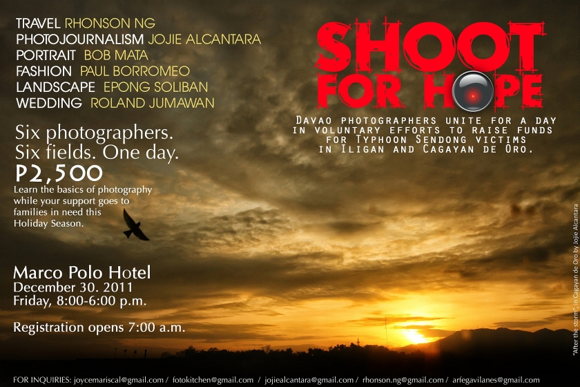 Shoot for Hope poster