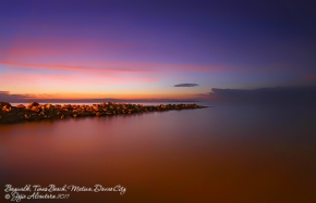Sunrise at Baywalk by Jojie Alcantara