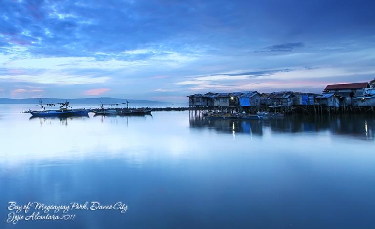Quiet morning at Magsaysay Bay
