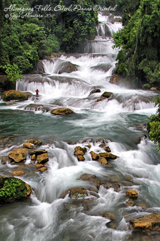 Aliwagwag Falls, Cateel, Davao Oriental by Jojie Alcantara