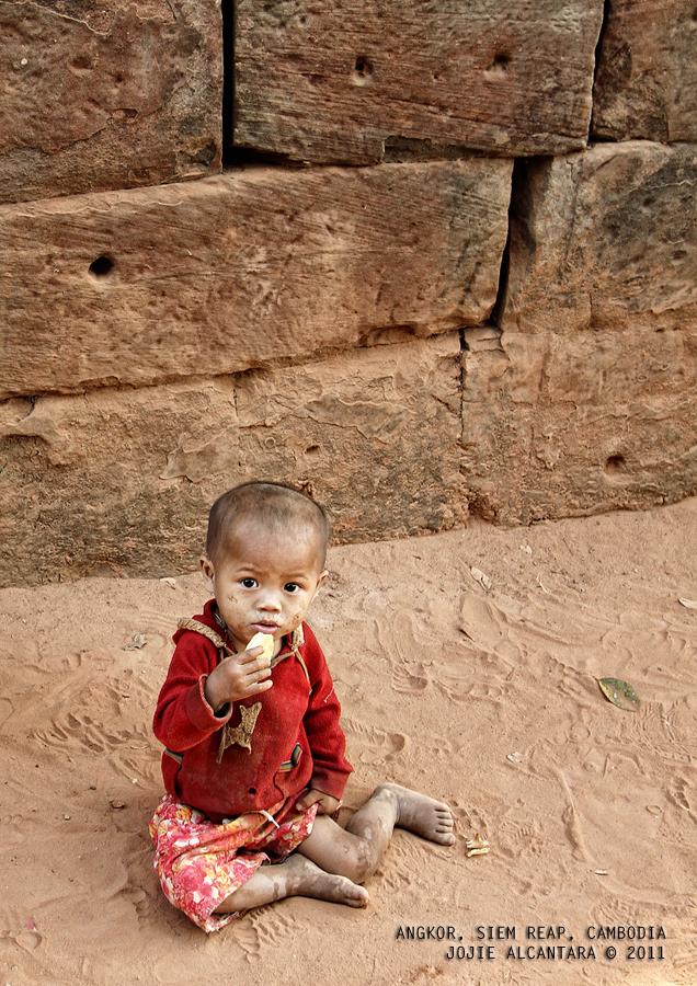 Child in Siem Reap, Cambodia