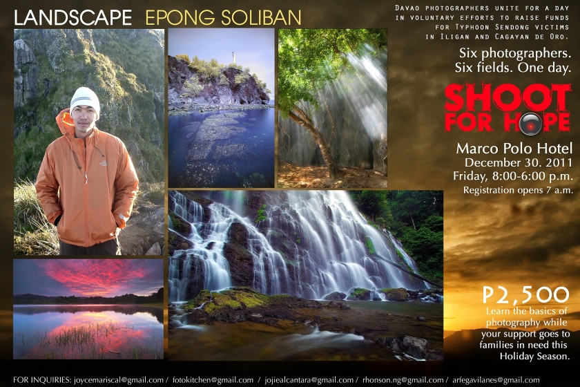 Epong Soliban for Landscape