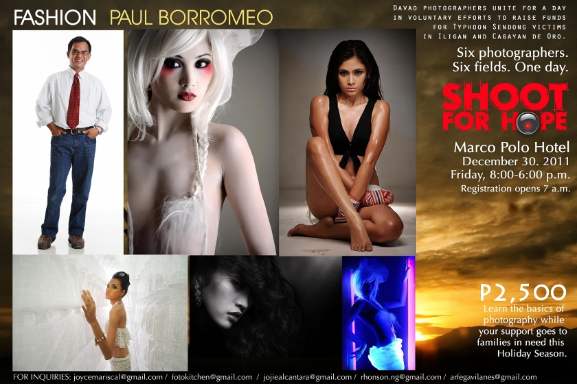 Paul Borromeo for Fashion