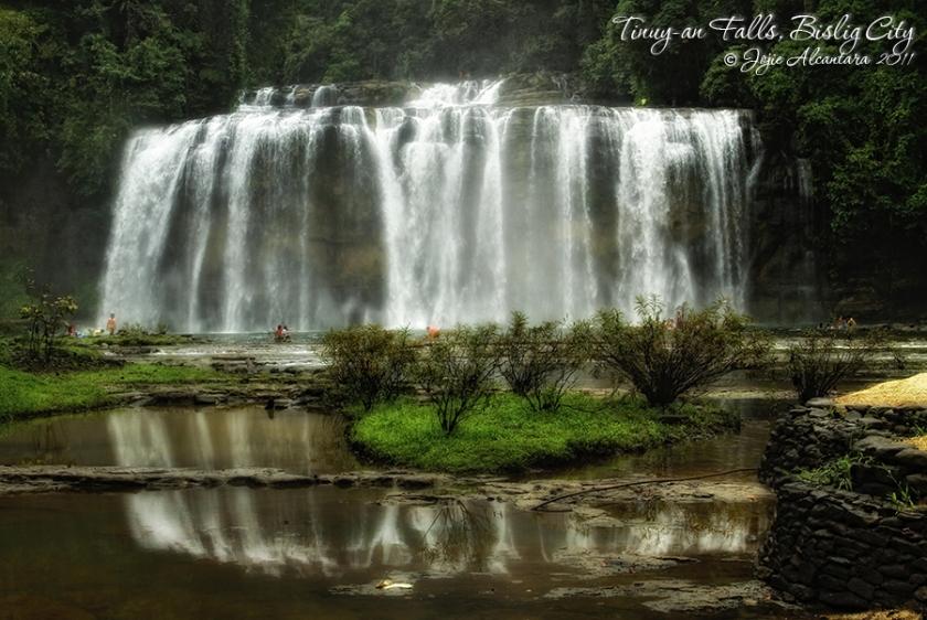 Tinuyan Falls in Bislig City by Jojie Alcantara