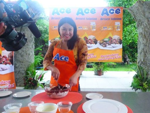 Ace Choco Munch TV commercial taping, GenSan