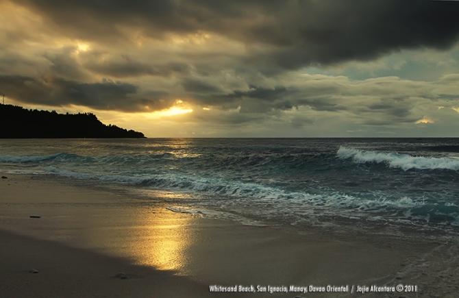 Whitesand Beach, San Ignacio, Davao Oriental by Jojie Alcantara