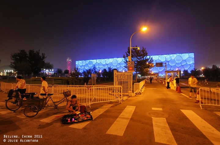 Water Cube in Beijing, China © Jojie Alcantara