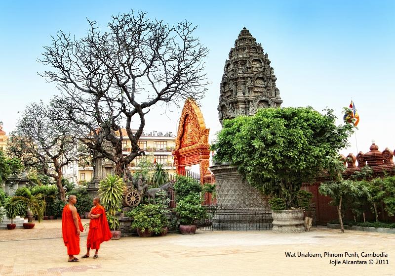 Wat Unaloam in Phnom Penh © Jojie Alcantara
