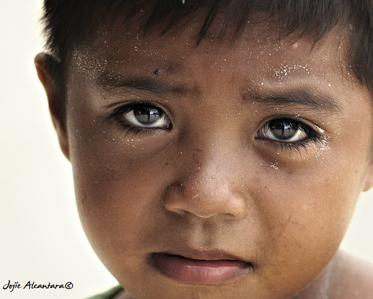 A child in Tabina, Zambo Sur  © Jojie Alcantara