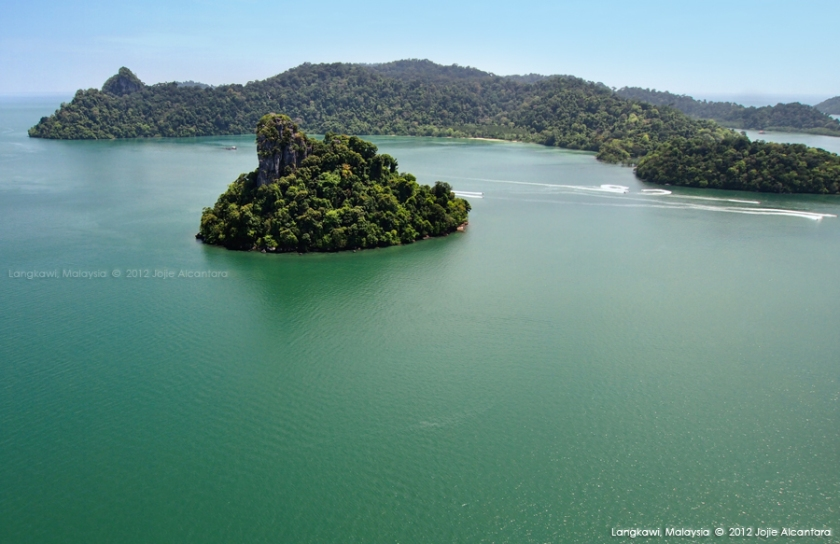 Aerial photography of Langkawi © Jojie Alcantara, 2012
