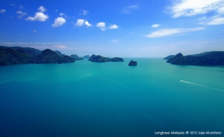 Aerial photography by chopper in Langkawi © Jojie Alcantara