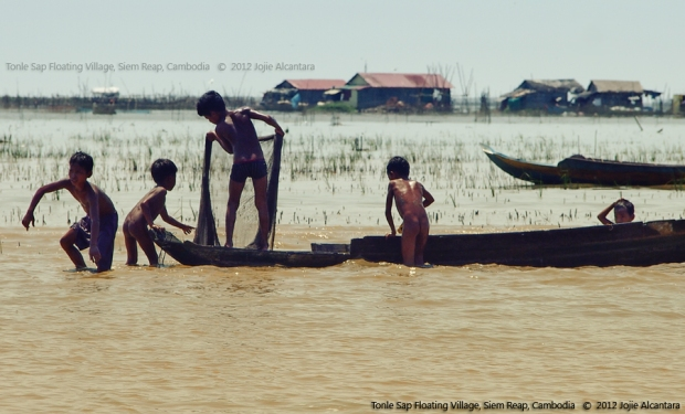 Tonle Sap Floating Village © Jojie Alcantara
