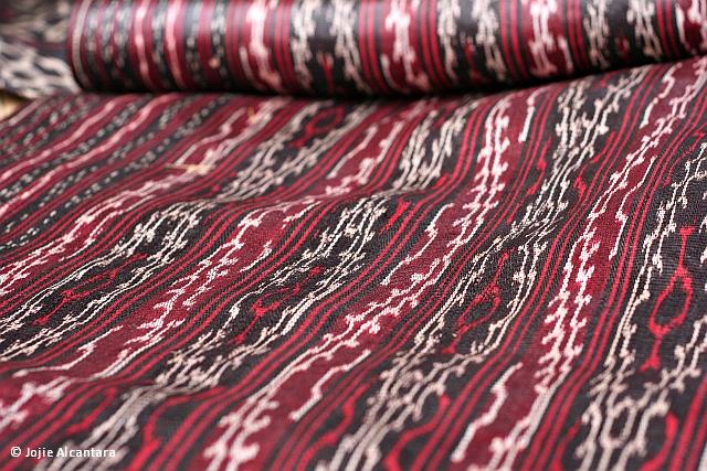 T'nalak cloth by Jojie Alcantara