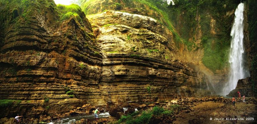 Lake Sebu Seven Falls Panorama by Jojie Alcantara