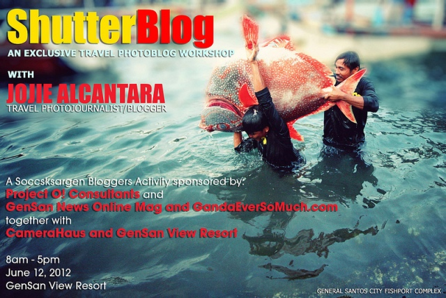ShutterBlog Workshop in GenSan City