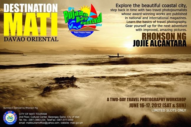 Destination Mati Travel Photography Workshop June 16-17