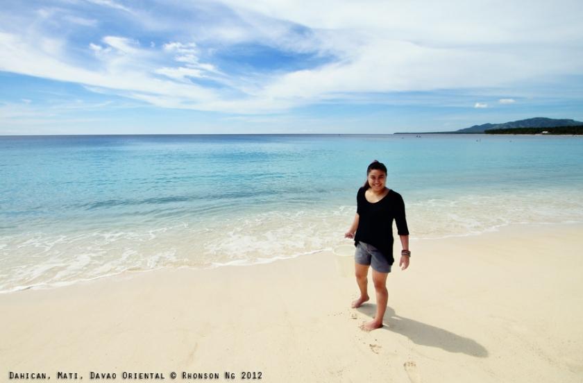 Me in Dahican, Mati, Davao Oriental  © Rhonson Ng