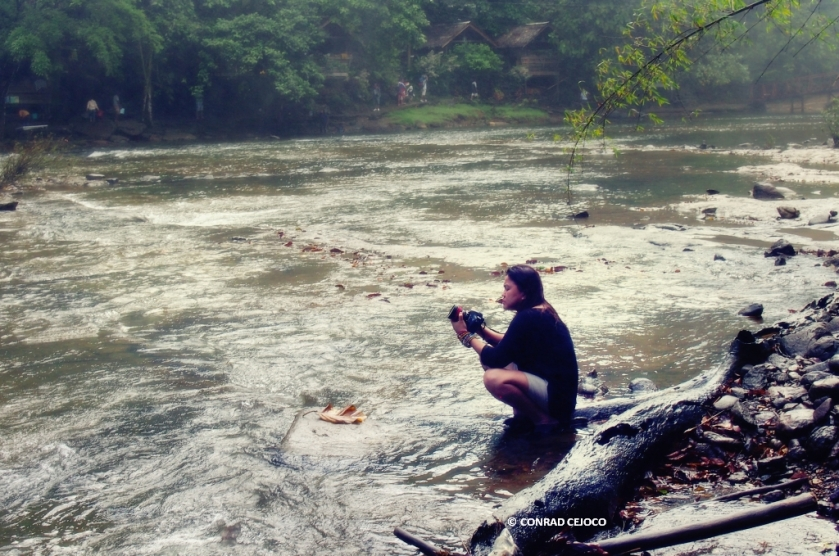Me in Tinuy-an Falls, Bislig  © Conrad Cejoco 2012