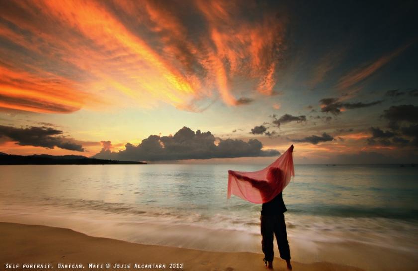 Sunrise in Dahican by Jojie Alcantara