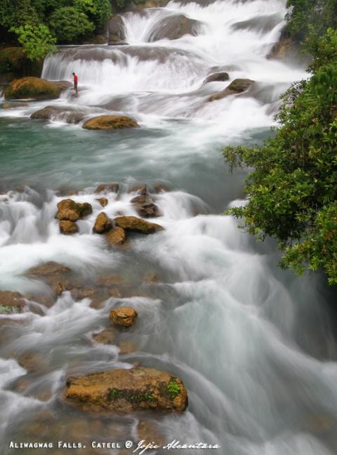 Aliwagwag Falls in Cateel © Jojie Alcantara