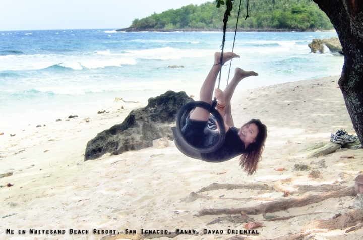 Jojie Alcantara in Whitesand Beach Resort  photo by Mark Limbaga