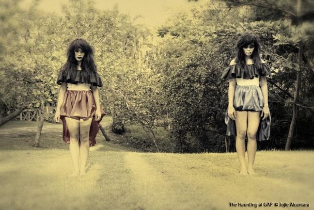 Double vision spooks by Jojie Alcantara
