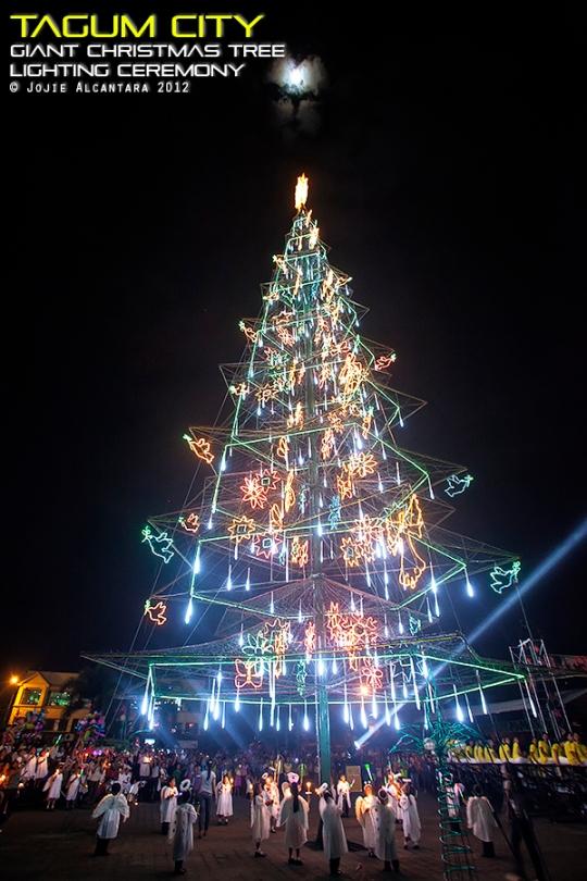 Tagum's Giant Christmas Tree Lighting Ceremony