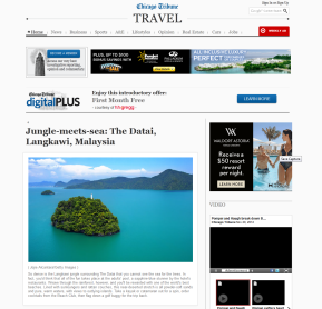 The Datai, Langkawi, Malaysia on chicagotribune_com' Jojie Alcantara on Getty Images