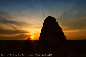 Sunset at Pre Rup, Siem Reap | Jojie Alcantara