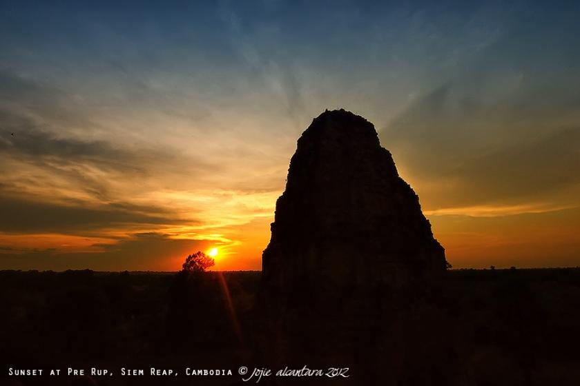 Sunset at Pre Rup, Siem Reap | Jojie Alcantara