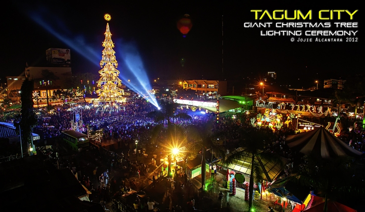 christmas tree in tagum