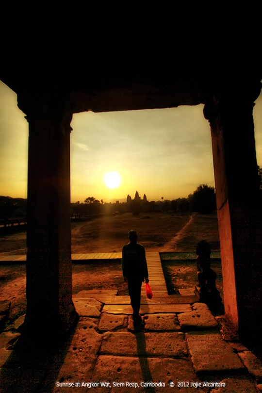 Sunrise at Angkor Wat © Jojie F. Alcantara