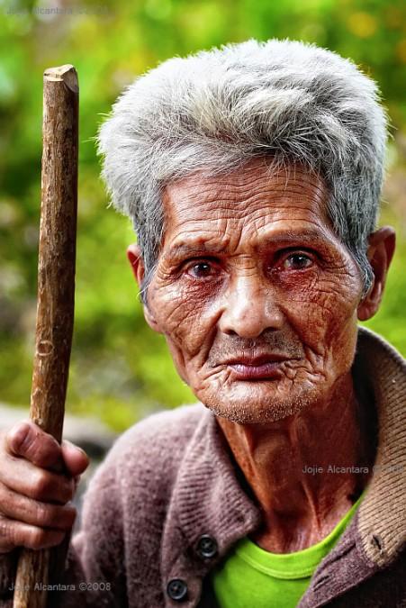 Old Bagobo man by Jojie Alcantara