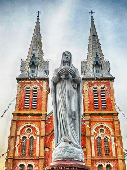 Basilica of Our Lady of The Immaculate Conception ( Vương cung thánh đường Chính tòa Đức Mẹ Vô nhiễm Nguyên tội)