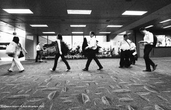 The March, Singapore airport