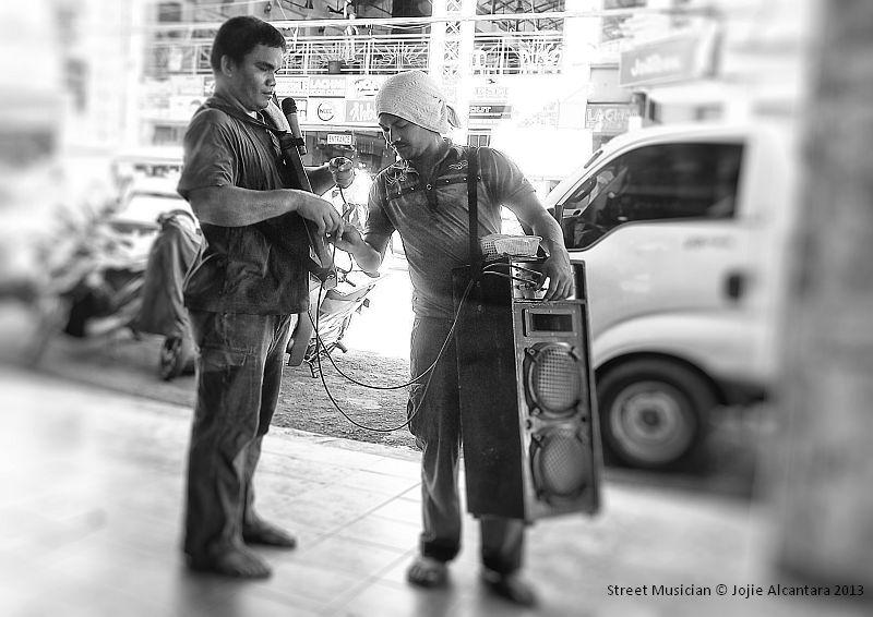 Street musician (Davao City)